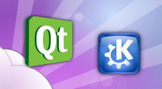 Logo KDE/Qt