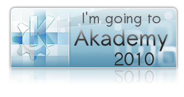 I am going to akademy 2010