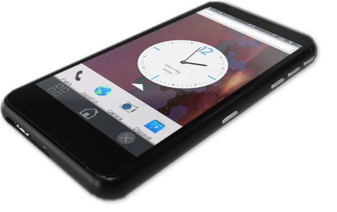 Necuno Mobile: An open phone with Plasma Mobile